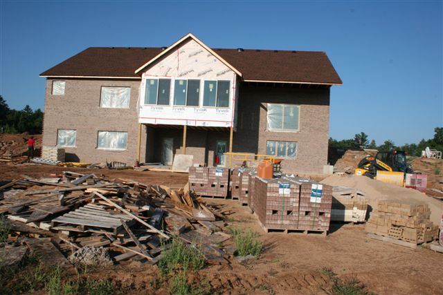 Custom Home Job Site