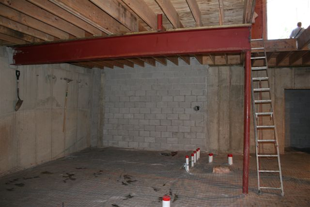 Custom Home Basement