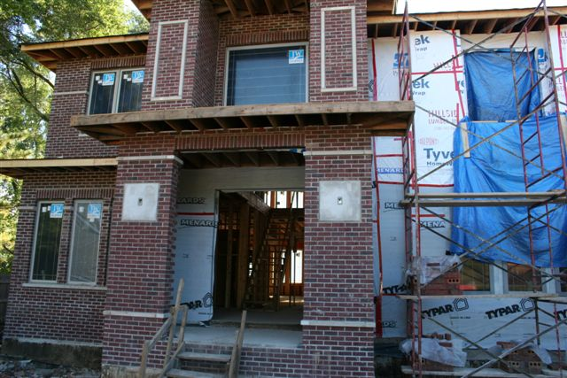 Custom Brick Home Construction